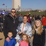 My family after the Cherry blossom race