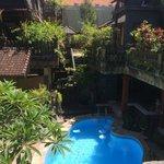 Hotel Lumbung Sari, view of interior court
