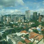 Vista do décimo sexto andar