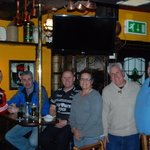 We had a great time at the Glen Tavern crashing a Garda retirement party.