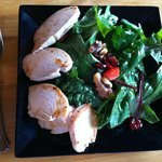 Spinach Salad with Chicken and NO Cheese