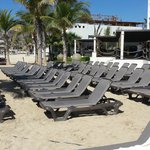 Camastros de Playa sin Sombrilla