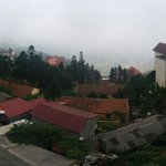 View from Hmong Sapa Hotel