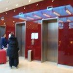 Área do elevador