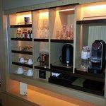 Spot the Nespresso machine? :)