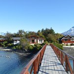 walkin the bridge towards the island :)