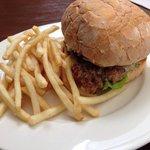 Chook burger $17