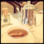 Tea service at Maxims