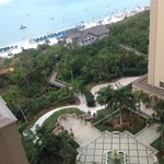 The view form our balcony