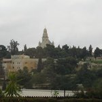 Dormition Abbey view from room