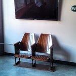 Off the main lobby- TV