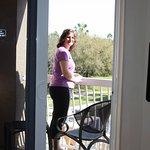 Nice sliders to balcony