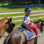 My grandson enjoying his ride!!!