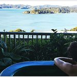 Beautiful view from the room/spa! Highlight of the trip to New Zealand!