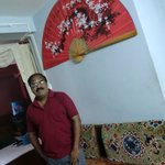 muralitharan at juniper tree hotel room