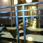 entry way - love the art deco decor of hotel