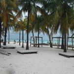 A postcard perfect beach