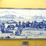 Chinnery tiled murals at Cathedral Square
