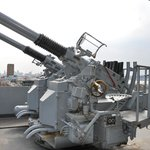Intrepid anti-aircraft guns