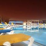 me at the pool