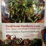 Cookbook for sale in the gift shop