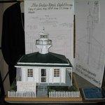 Cedar Keys Light House Locally Crefted Model