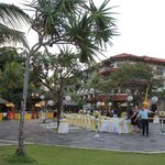 Rama Stage Area used for Wedding Reception