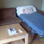 2 Betten im Wohnzimmer