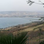 View of the Sea of Galilee from the hotel