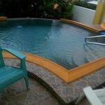 Very small pool (ca 3m x 3m)