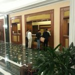 Lobby/checkin counters