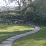 garden path Appalachian spring