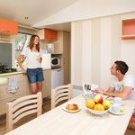 Coin salon/cuisine - Mobil-home