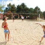 Terrain de volley/badminton