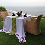 Private BBQ on a cliff edge