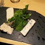 Le plateau de fromages.