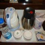 Tea-coffee maker in rooms