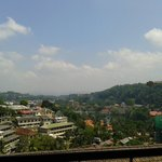 View from balcony over Kandy!!
