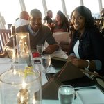 My son and his fiancé enjoyed the atmosphere and food A+for there anniversary. ..
