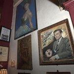 Paintings of British film stars!