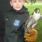Joshua with falcon