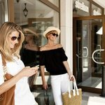 Shopping in more than 130 designer stores