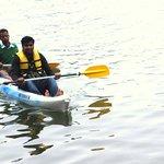 kayaking near the hotel