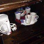 Coffee and tea selection