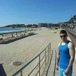 La pinda beach  next to evistal park :)