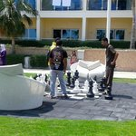scacchi in giardino