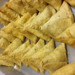 Samosas are ready