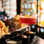 bar platter & cocktails