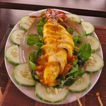 Grilled Sate Squid