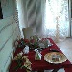 La II sala colazioni